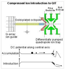 Introducere comprimată a ionilor